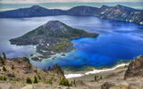 Обои: озеро, crater lake drive, орегон, горы, сша, природа, кратер, crater lake national park