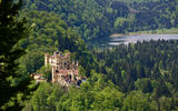 Картинки на телефон: замок хоэншвангау, Germany, Hohenschwangau castle, озеро Шванзее, Bavaria, бавария, замок, Schwansee Lake, германия