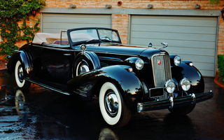 Обои Cadillac V016 Series 90 Convertible Coupe '1936