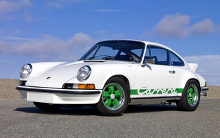 Обои Porsche 911 Carrera Rs 2.7 Coupe (901) '1972–73