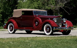 Обои Packard Super Eight Convertible Victoria '1934