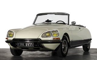 Обои Citroen Ds 023 Cabriolet By Chapron '1973