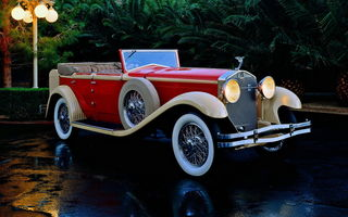 Картинка Isotta-fraschini Tipo 008a Convertible Sedan By Castagna '1930