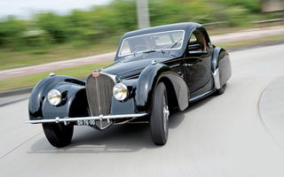 Обои Bugatti Type 057s Coupe By Gangloff Of Colmar '1937