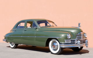 Обои Packard Super Deluxe Eight Touring Sedan '1949