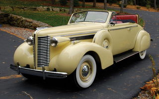 Обои Buick Special Convertible '1938