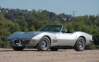 Обои Chevrolet Corvette L068 427 400 Convertible (с3) '1969