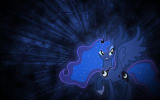 Обои My little pony, пони, Luna