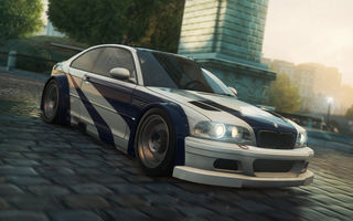 Обои Need for speed, игра, BMW M3 GTR, 2012, машина, Most wanted, гонки
