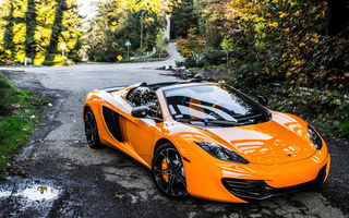 Обои Mclaren, Exotic, Supercar, Seattle, MP4-12C, Washington, Spider
