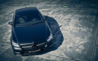 Обои mercedes, cls, тюнинг, kicherer, black edition