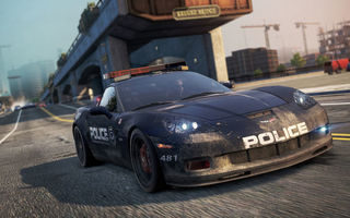 Обои Need for speed, cop, Chevrolet Corvette Z06, police, Most Wanted, auto, 2012, game