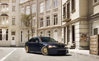 Обои BMW, Hamman, M3, E46, black, tuning