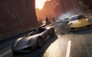 Обои гонки, 2012, 911, Porsche, машины, Need for speed, Most wanted 2, жажда скорости, 918 Spyder