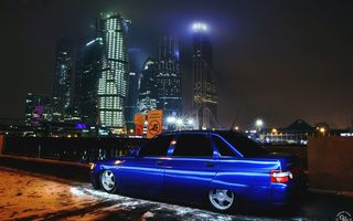 Обои GORELOV FILMS PRODUCTION, photographer, авто, photography, ВАЗ, LADA, 2110, auto, фотограф, машина