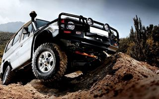 Обои Toyota, 78, внедорожник, land, BFGoodrich, ARB, off-road, cruiser