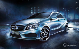 Обои 2012, мерседес, A-class, w176, Mercedes-Benz