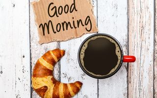 Обои good morning, cup, coffee, кофе