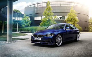 Обои 2015, Alpina, B3, F30, BMW, 3-Series, бмв