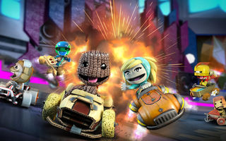Обои little big planet, little big planet cart, video game