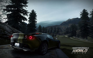 Обои Need for speed, гонки, Lotus Elise, игра, спорткар, World, зад, Online