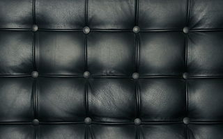 Картинка black, leather, sofa, pattern