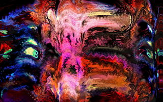 Обои Bowshock Antiphony, Abstraction, Digital Painting