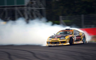 Обои supra, drift, Toyota, competition, tuning, sportcar, smoke