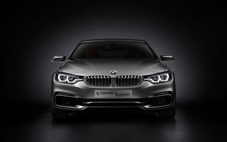 Картинка bmw, concept, car, front side, silver, 2013, 4 series, bmw 4 series coupe concept 2013, coupe