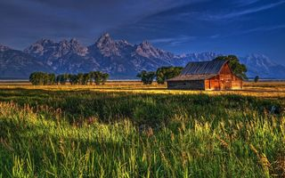Обои usa, mormon row, grand teton national park, jackson hole, wyoming