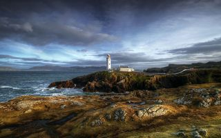 Обои ireland, fanad head, county donegal