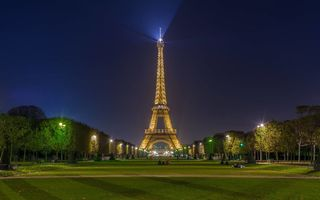 Обои Eiffel Tower, Paris, Франция, Эйфелева башня, Париж, France