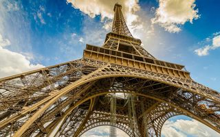 Обои Eiffel Tower, France, Paris, Эйфелева башня, Франция, Париж