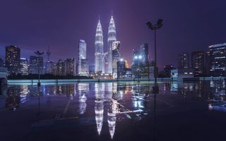 Картинка Petronas Twin Towers, Куала-Лумпур, Малайзия