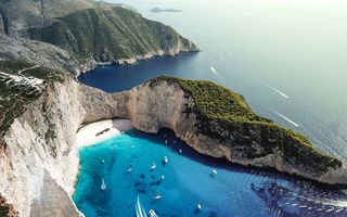 Картинка Navagio bay, Shipwreck beach, Zakynthos island, Greece