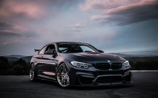 Обои GBMW, Black, Coupe, M4, F82, бмв, купе