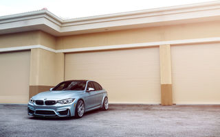 Обои BMW, Front, Car, Sport, M3, F80, Silver