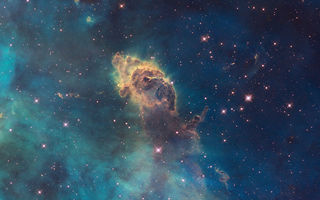 Картинка Carina Nebula, ESA, Hubble SM4 ERO Team, NASA