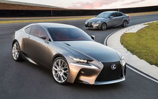 Обои автомобили, LF-CC, Lexus IS350, лексус, and, Concept, Lexus