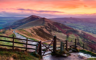 Обои Peak District, холмы, Англия, England
