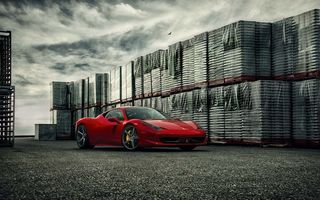 Обои VPS303, Forged, Precision, Front, Ferrari, Wheels, Vossen, Series, 458, Italia