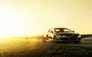 Обои 2015, Black, Wheels, Supercar, V10, Sun, ADV.1, Audi