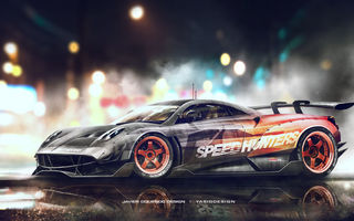 Обои Huayra, Speedhunters, Yasid Design, Pagani, Need for Speed