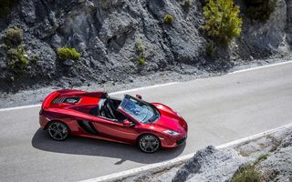 Обои McLaren, Spider, car, MP4-12c