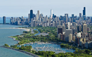 Обои USA, город, Chicago, Illinois, Чикаго, city