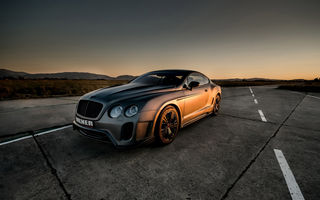 Картинка bentley continental gt, авто, купе, car, vilner, tuning, бентли