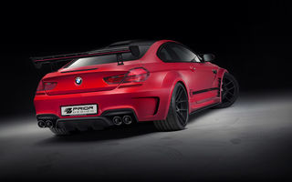 Обои BMW, coupe, tuning, f13, m6, prior design, red