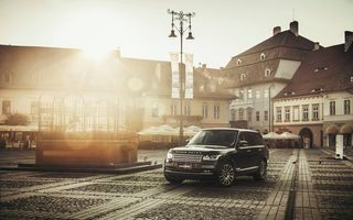 Обои Car, Desktop, Automobile, Range Rover, Vogue, Black, Car, TDV8