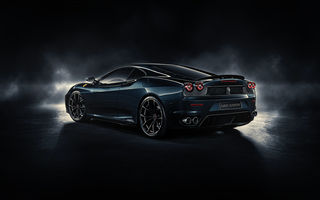 Картинка Ferrari, Midnight Black, rear, by DuronDesign, F430