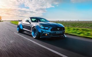Картинка Ford, GTR, Liberty Walk, Mustang, speedhunters